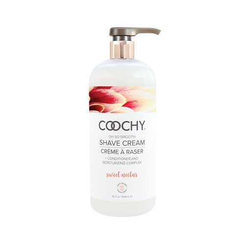 Coochy Shave Cream Sweet Nectar 32oz