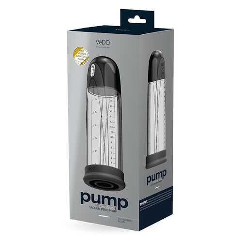 Pump Vacuum Penis Pump Black