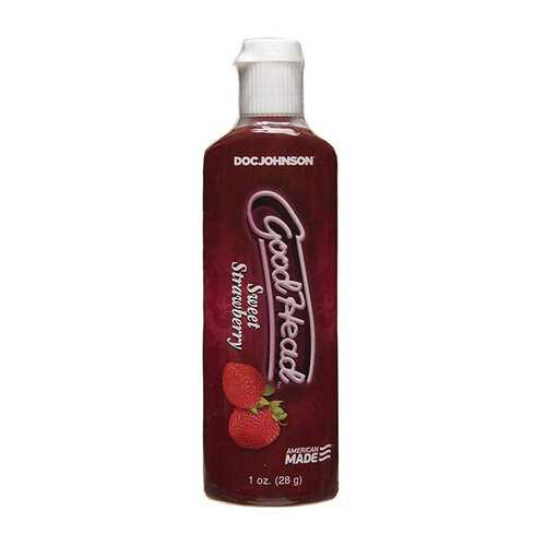 GoodHead Strawberry Oral Gel 1oz.