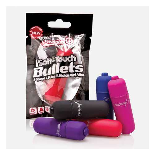 Screaming O 3+1 Soft Touch Bullet Purple