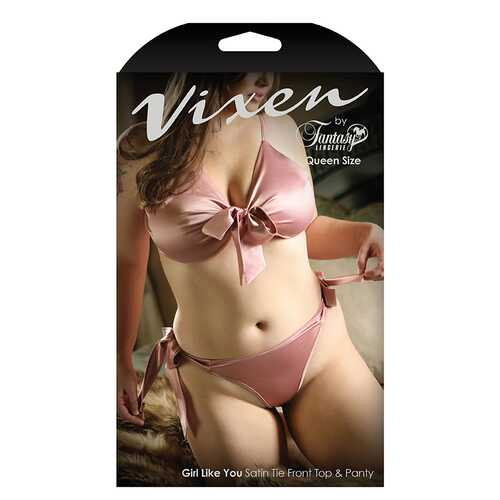 Vixen Girl Like You Top and Panty Queen