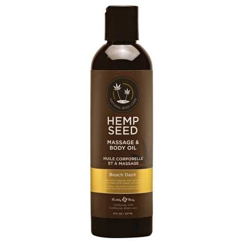EB Hemp Massage Oil Beach Daze 8oz