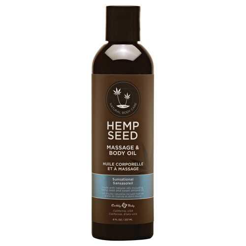 EB Hemp Massage Oil Sunsational 8oz