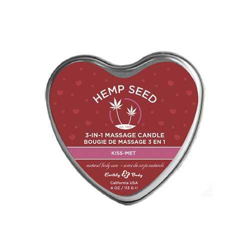 EB Hemp Seed Valentine Candle Kiss Met