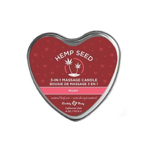 EB Hemp Seed Valentine Candle Muah