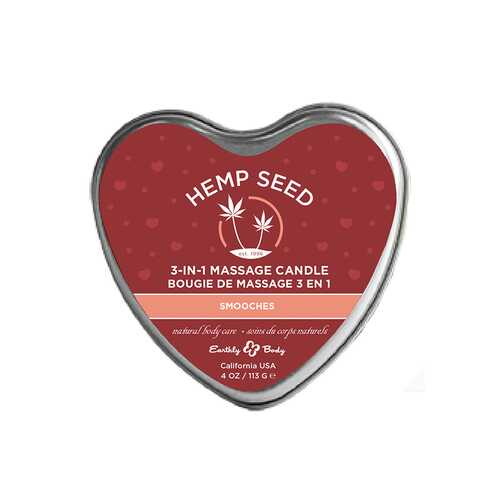 EB Hemp Seed Valentine Candle Smooches