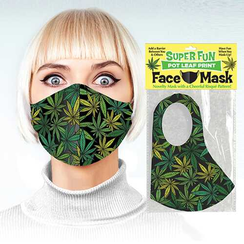 Mask Pot Leaf