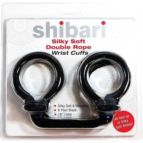 Shibari Silky Soft Double Rope Wrist Cuf