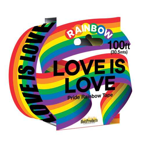 Love Is Love  Rainbow Caution Tape. 100'