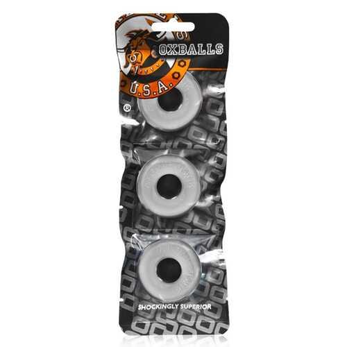 Oxballs Ringer 3-Pack Of Do-Nut-1 Clear