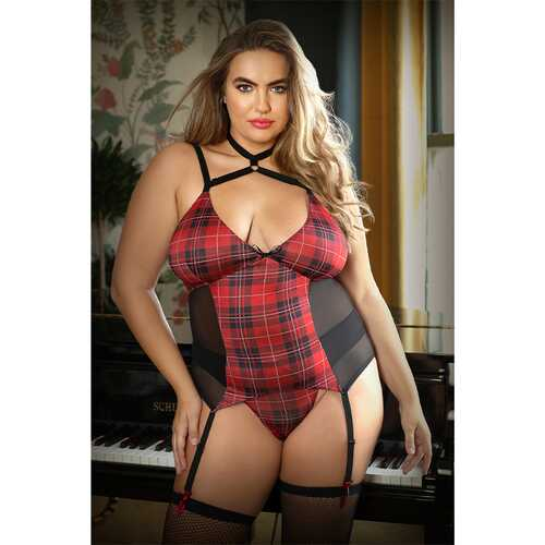 Curve Shannon HarnessBustierw/Panty1X/2X