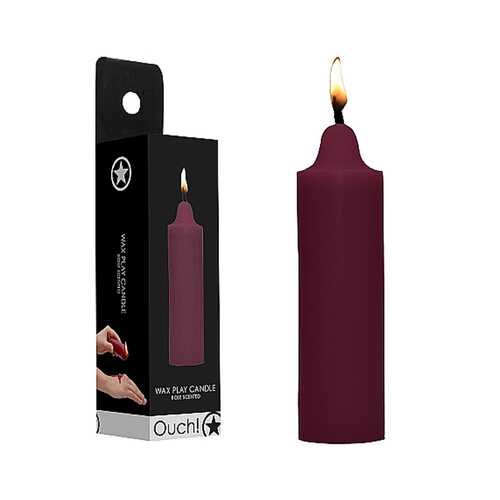 Ouch Wax Play Candle Rose Scented