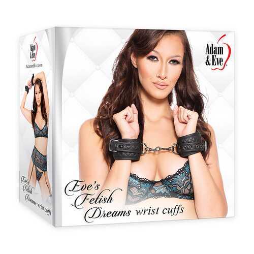 A&E Eve's Fetish Dreams Wrist Cuffs Blac