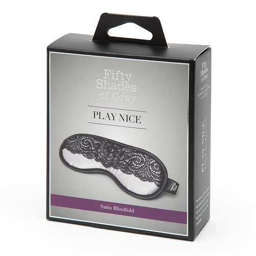 Fifty Shades Play Nice Satin&Lace Blind