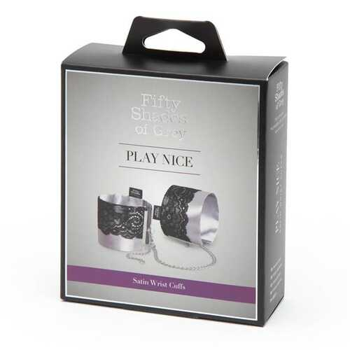 Fifty Shades Play Nice Satin&Lace Wrist