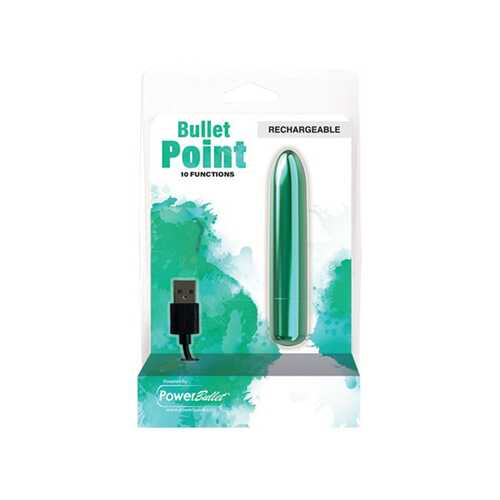 Power Bullet Point Rechargeable Teal