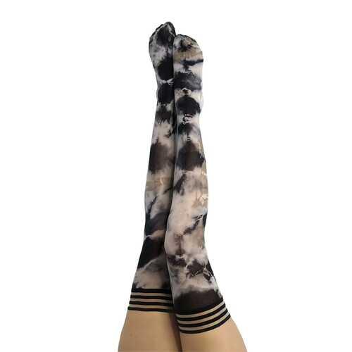 Kixies Mackenzie Black/Tan Tie Dye Size