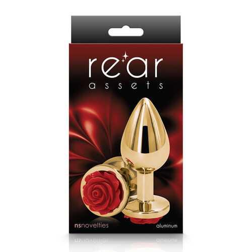 Rear Assets Rose Medium Red