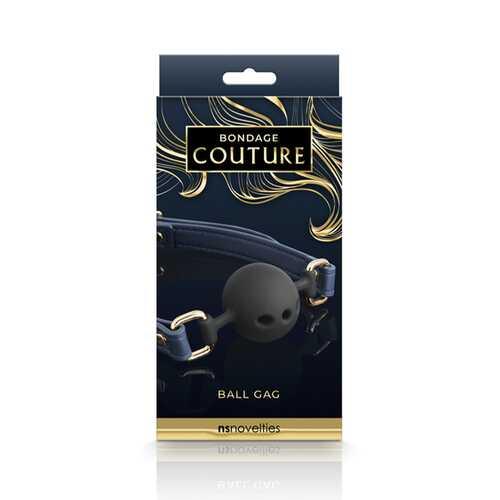 Bondage Couture Ball Gag Blue