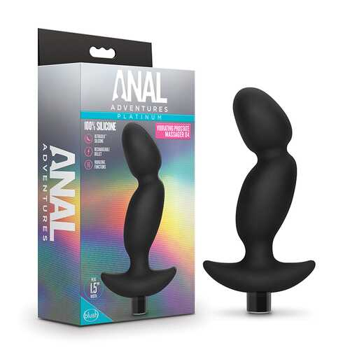 Silicone Vibrating Prostate Massager 04