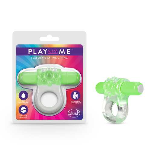 Play with Me Teaser Vibrating CRing Gree