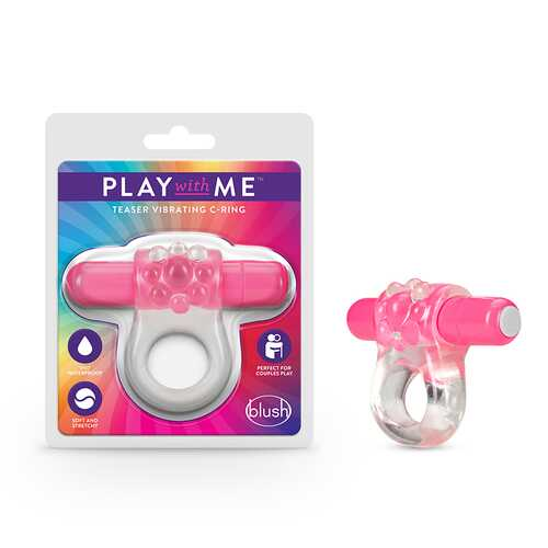 Play with Me Teaser Vibrating C-Ring Pin