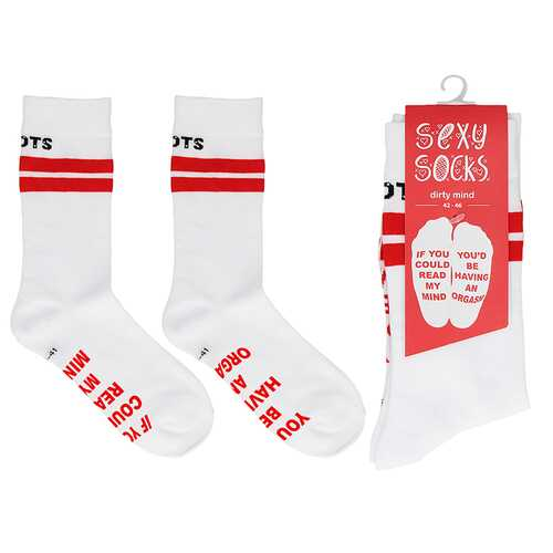 Shots Socks Dirty mind M/L