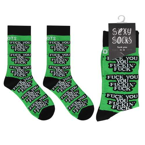 Shots Socks Fuck you M/L
