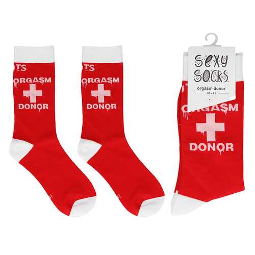 Shots Socks Orgasm Donor - S/M