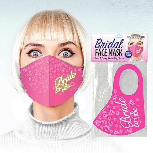 Bride To Be Glow In The Dark Mask