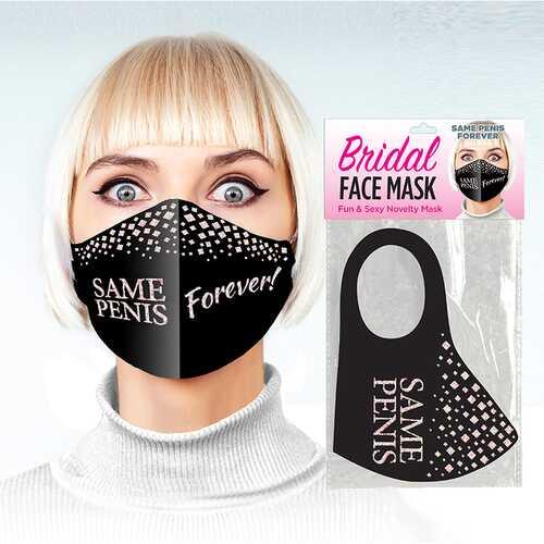Same Penis Forever Glitter Mask