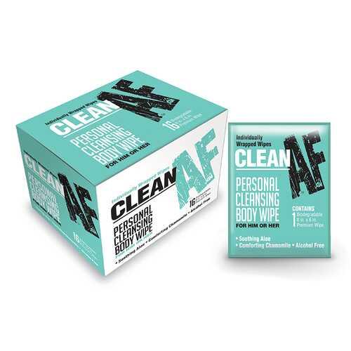 Clean Af Wipes Box Of 16