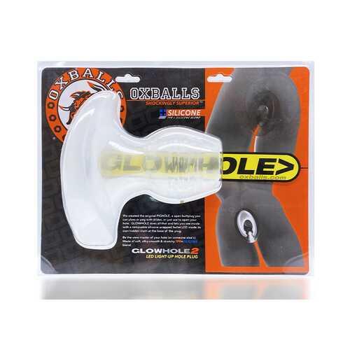 Oxballs Glowhole-2 Buttplug W/Led Lg Fr