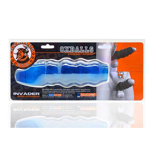 Oxballs Invader Cocksheath Space Blue Ic