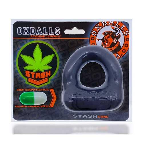 Oxballs Stash Cockring W/Capsule Insert