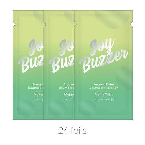 Joy Buzzer Mojito TwisFoil 24 pcs .13 oz