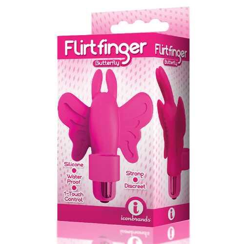 The 9's Flirt Finger Butterfly Pink