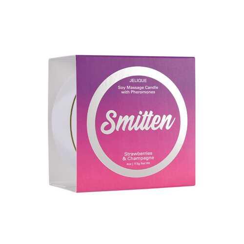 Massage Candle Smitten Straw&Champ 4oz