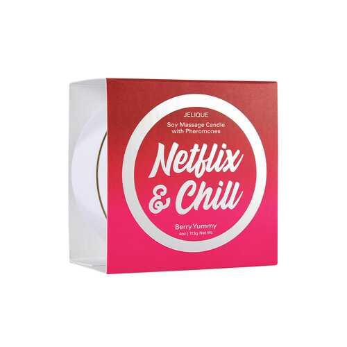Massage Candle Netflix&Chill Berry 4oz