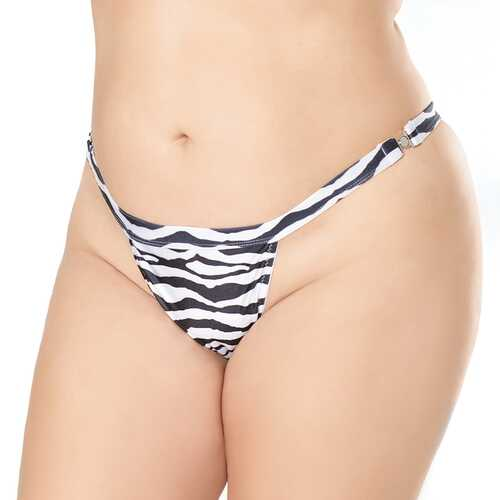 Quick Release Thong Pattern OS XL