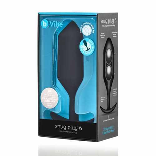 b-Vibe Snug Plug 6 Black