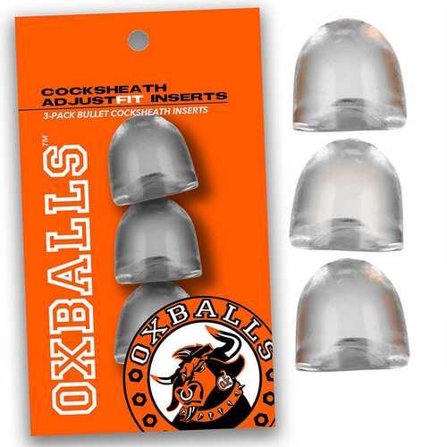 OxBalls ADJUSTFIT INSERT 3 Pack Clear