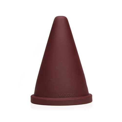 Tantus Cone Squat Firm - Oxblood