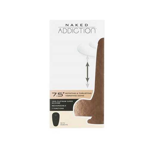 Naked Addiction The Freak 7.5in Vanilla