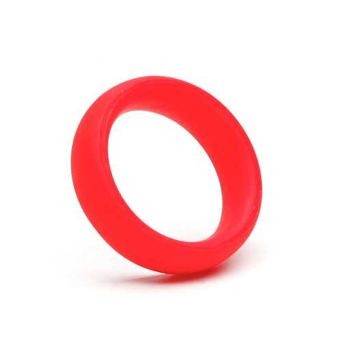 "Tantus  ADVANCED C-Ring Red 1 75"""