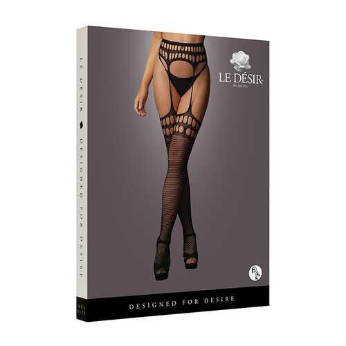 Le Desir Garterbelt stockings Black O/S