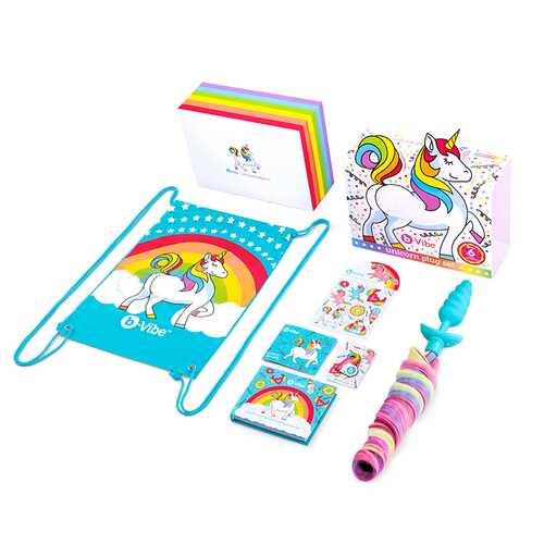 b-Vibe Unicorn Plug 6pc Set