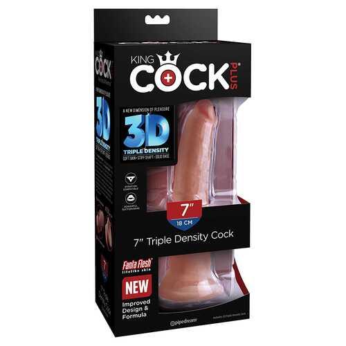 King Cock Plus 7in Triple Density Cock T