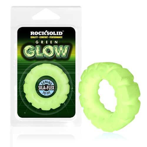 Rock Solid Silaflex G.I.T.D Tire Green