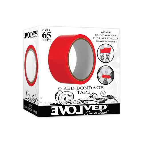 Evolved Red Bondage Tape 65ft Red